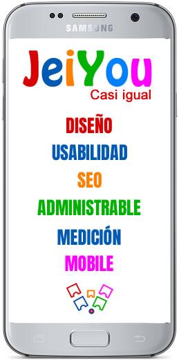 Características del Diseño de páginas web en La Coruña, agencia JeiYou